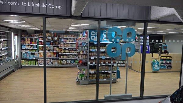 Coop shop front